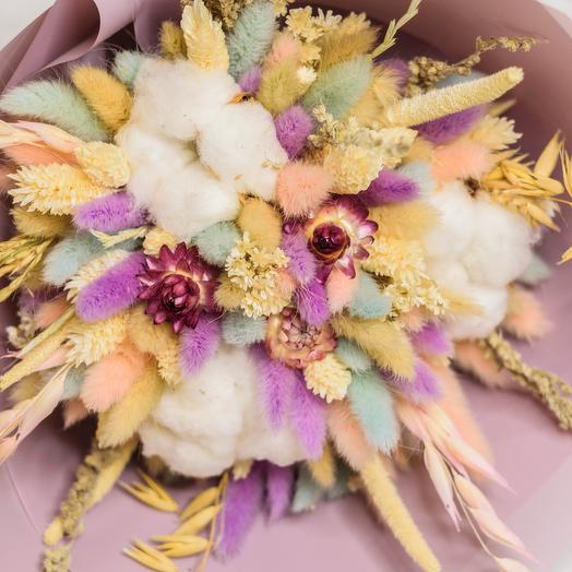 Мягкий букет: букеты цветов на заказ Flowwow