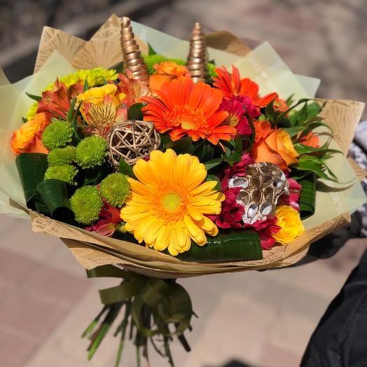 Добрый день: букеты цветов на заказ Flowwow