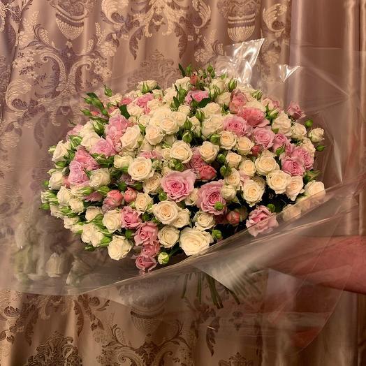 Букет из кустовых роз 101: букеты цветов на заказ Flowwow