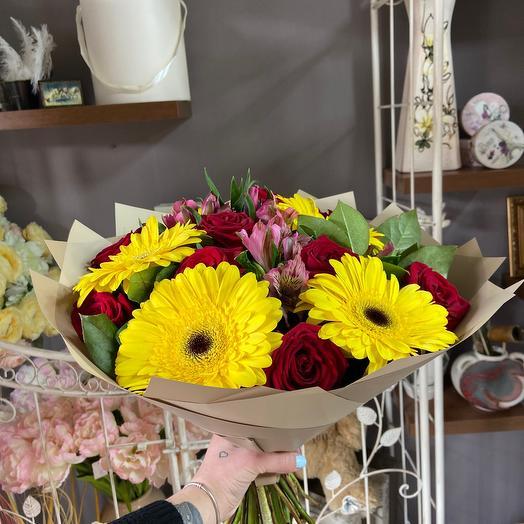 Рд яркое солнце: букеты цветов на заказ Flowwow