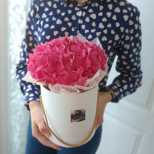 Мечталика🌸 Гортензия розовая: букеты цветов на заказ Flowwow