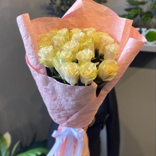 Букет роз «Мондиаль» 21 шт