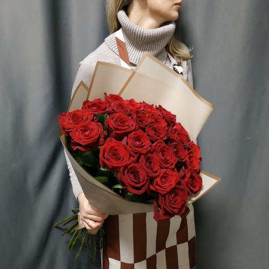 """Букет""""25 красных роз"""""""