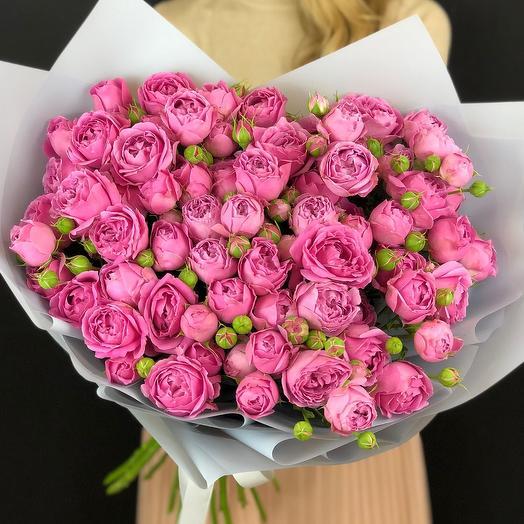 Кустовая роза Мисти баблс🌺