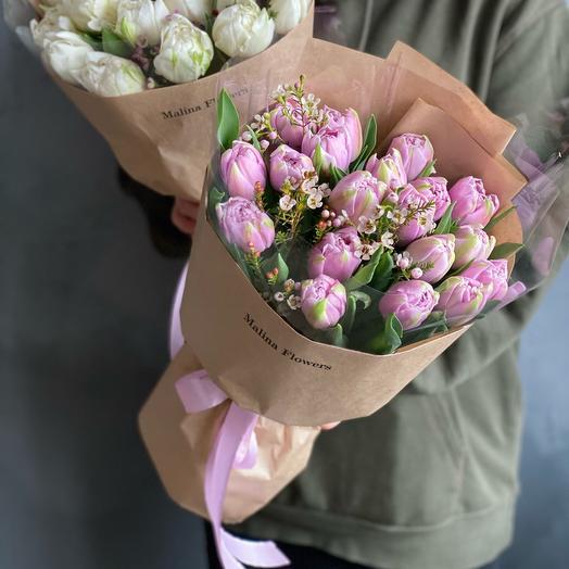 "Tulips "" lilac mist»"