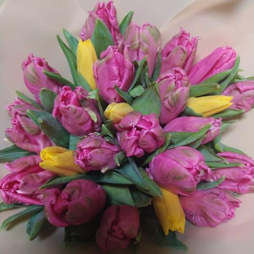 Пионовидные тюльпаны голландия микс