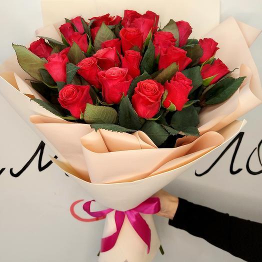 Розы в фоамиране