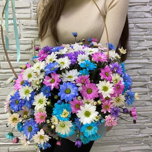 Корзина с цветами «Чародейка»