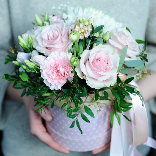 Цветы в коробке Esteela