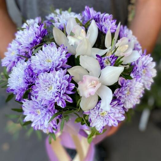 Цветы в коробке «Фантастика»