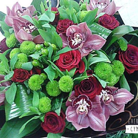 Букет 157: букеты цветов на заказ Flowwow