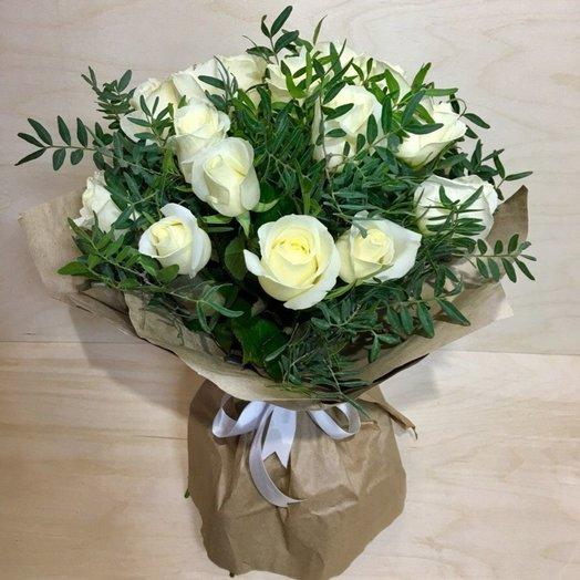 Букет 15роз: букеты цветов на заказ Flowwow