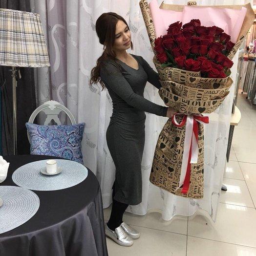 Букет-гигант: букеты цветов на заказ Flowwow