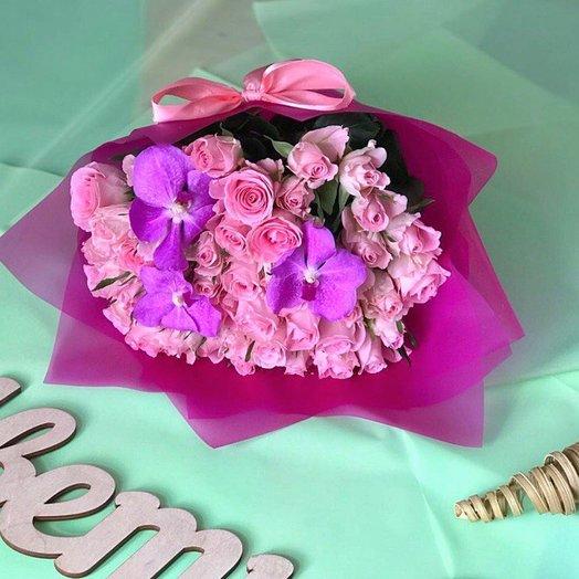 Букет Барби: букеты цветов на заказ Flowwow