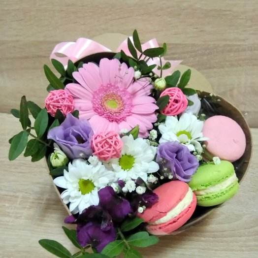 Мини коробочка: букеты цветов на заказ Flowwow