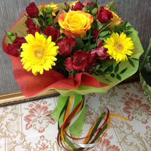 Веселье: букеты цветов на заказ Flowwow