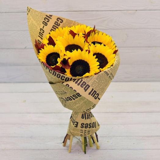 Букет Гелиос: букеты цветов на заказ Flowwow