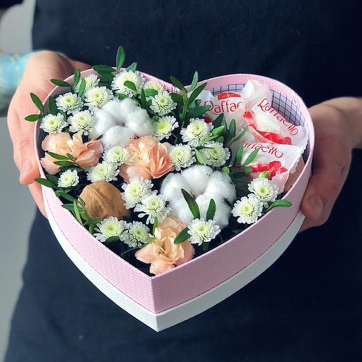 Heart 13 Малое: букеты цветов на заказ Flowwow