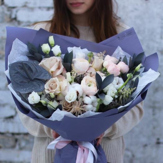 Букет 02: букеты цветов на заказ Flowwow