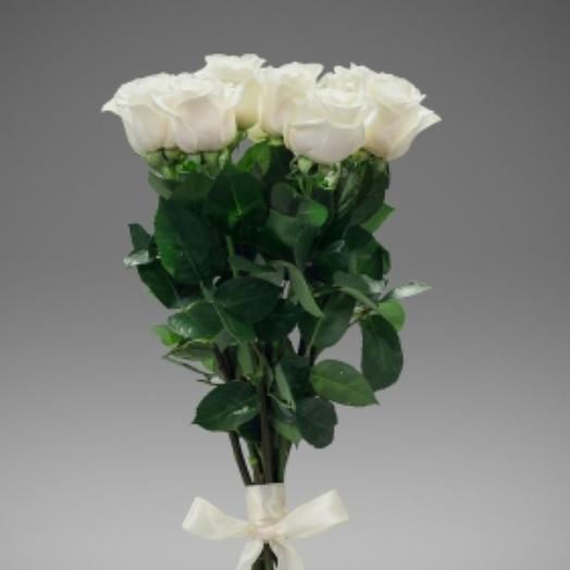 Белая роза: букеты цветов на заказ Flowwow