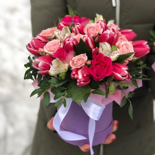 Тюльпановая коробочка
