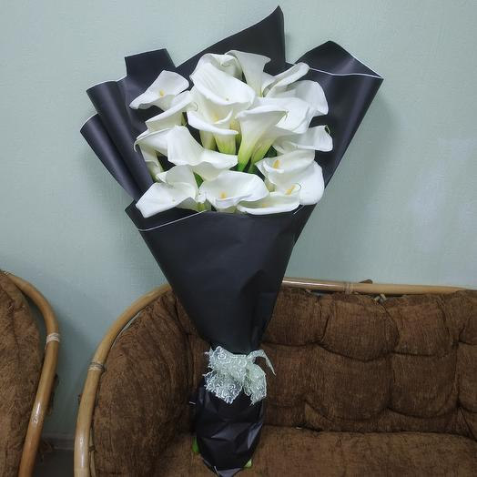 Каллы 19: букеты цветов на заказ Flowwow