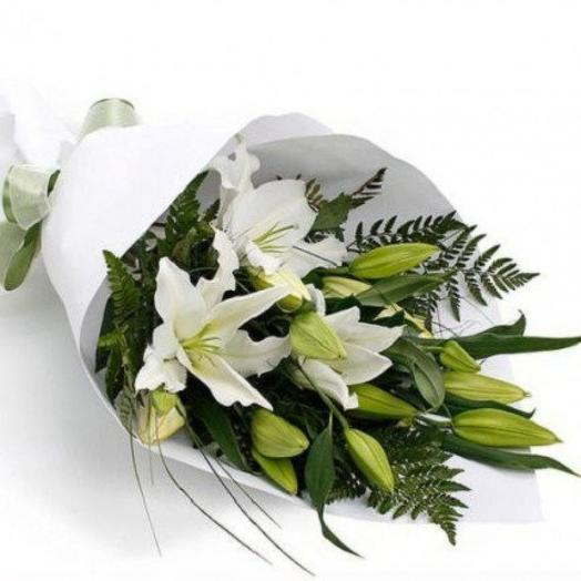 """Букет """"з лилии"""": букеты цветов на заказ Flowwow"""