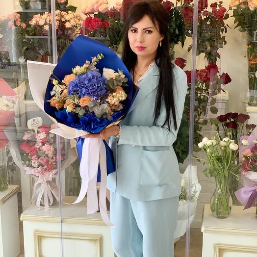 Стильный и строгий: букеты цветов на заказ Flowwow