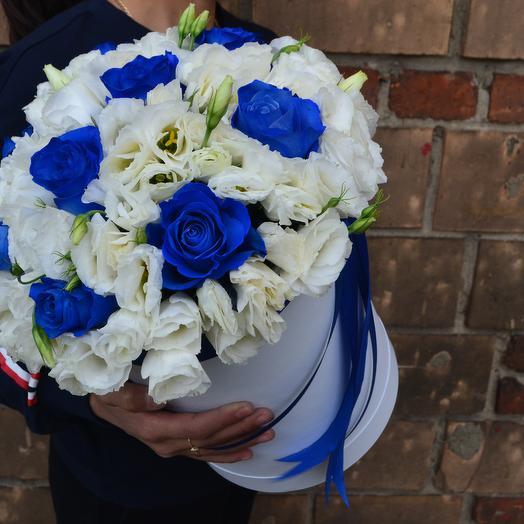 Синие небеса: букеты цветов на заказ Flowwow