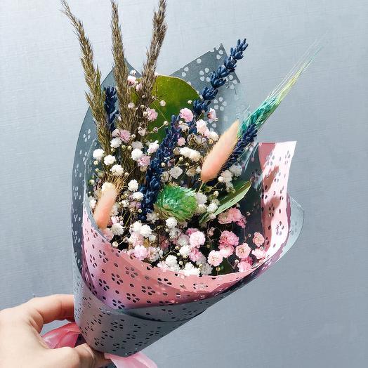 Сухоцветик 3: букеты цветов на заказ Flowwow