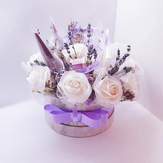 Лавандовая ванна: букеты цветов на заказ Flowwow