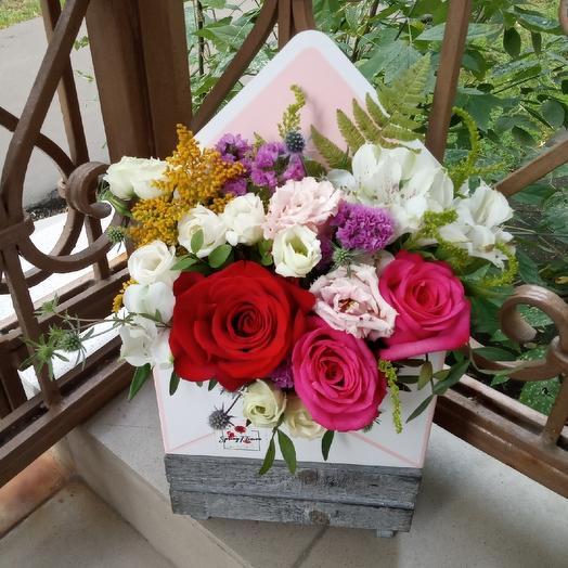 Любовное письмо: букеты цветов на заказ Flowwow