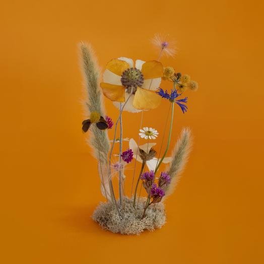 Handmade Assorted Flower Terrarium: flowers to order Flowwow