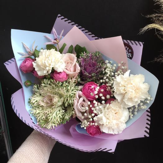 Ягодные сливки: букеты цветов на заказ Flowwow