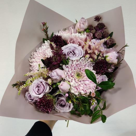 Букет 50: букеты цветов на заказ Flowwow