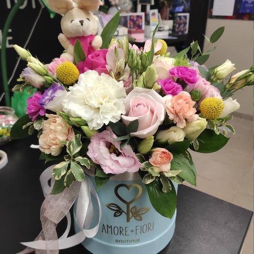 Замечательный подарок: букеты цветов на заказ Flowwow