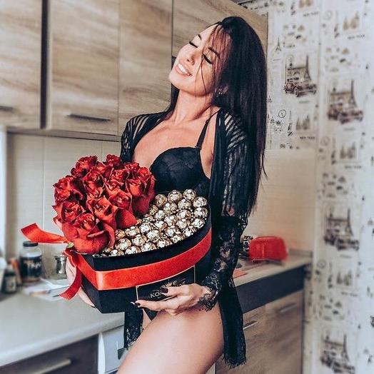 Сладкие Розы: букеты цветов на заказ Flowwow