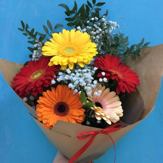 Летний букет🌺: букеты цветов на заказ Flowwow
