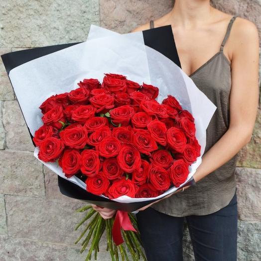 Букет 51 роз Экспловер