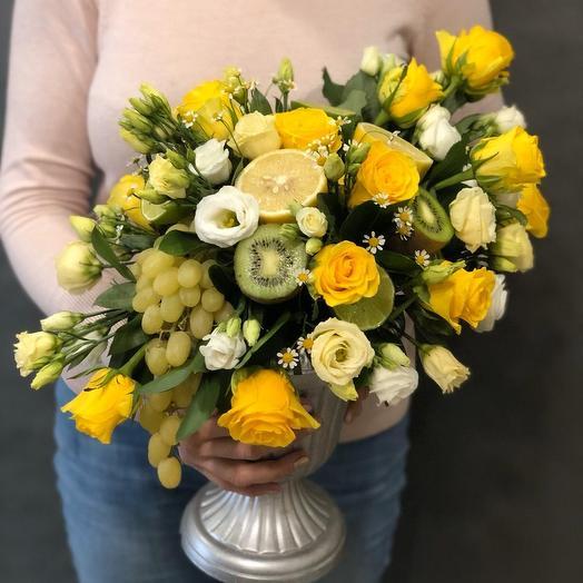 Лимончелло: букеты цветов на заказ Flowwow