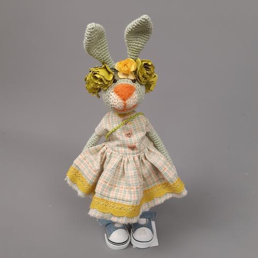 Зайка в платье: букеты цветов на заказ Flowwow