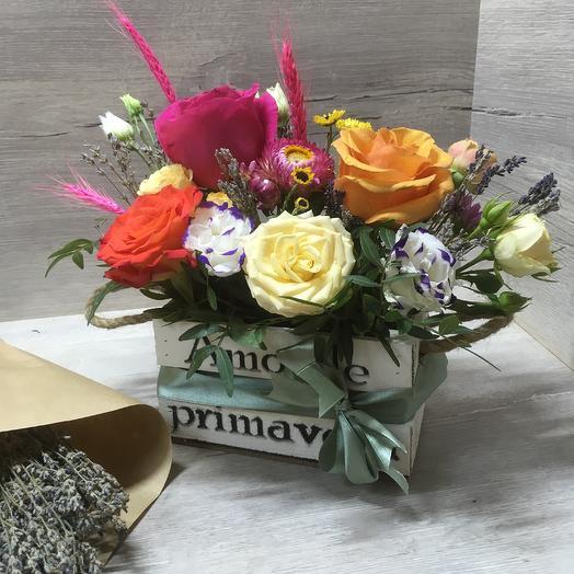 Amore de primavera: букеты цветов на заказ Flowwow