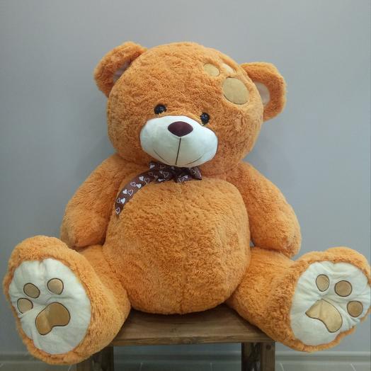 Медведь Тишка: букеты цветов на заказ Flowwow