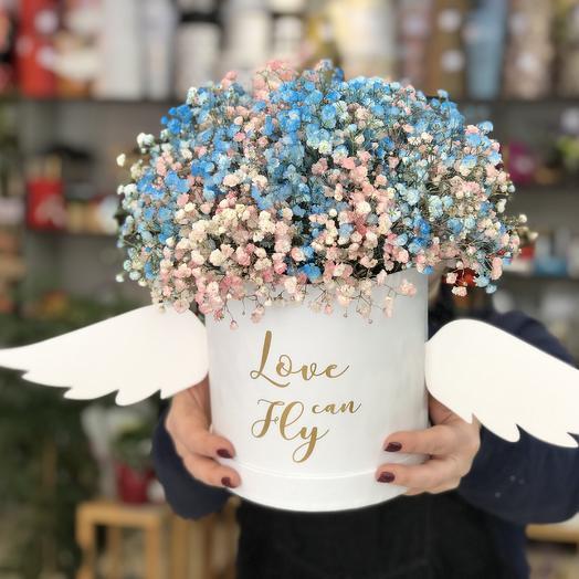 Летящий ангел: букеты цветов на заказ Flowwow