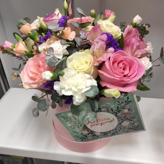 Весенняя композиция: букеты цветов на заказ Flowwow