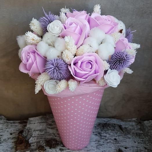 Мадам Пампадур: букеты цветов на заказ Flowwow