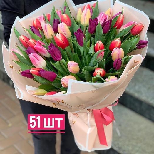 51 Tulips mix