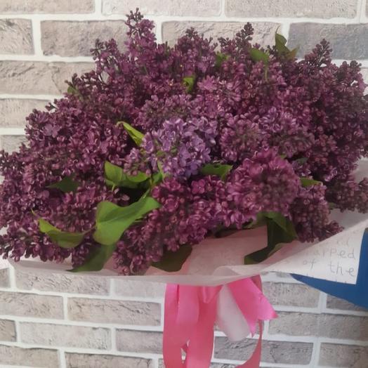 Большой букет сирени: букеты цветов на заказ Flowwow