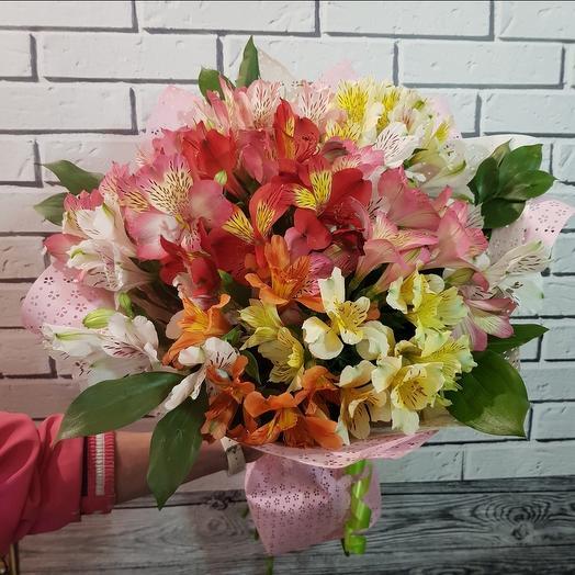 Букет альстромерии 9: букеты цветов на заказ Flowwow