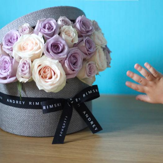 Rose Box Grey